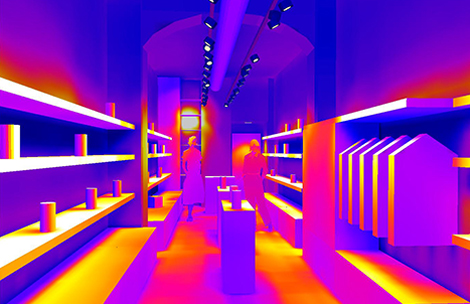 Retail - Falsi colori 1