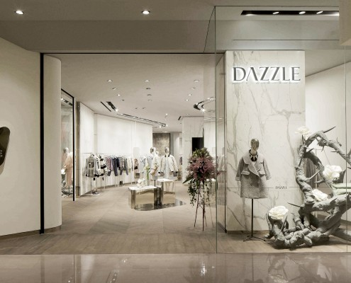 Ingresso di Dazzle Store – Kerry Center Mall in Shangha